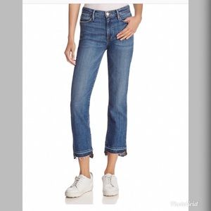 Frame ale High Straight Leg Jeans in Foster FD12